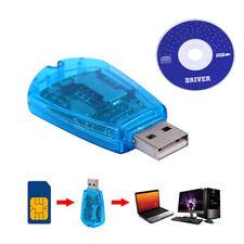 Lettore di schede SIM USB Scrittore Clone Copiatrice Adattatore di backup Tutte