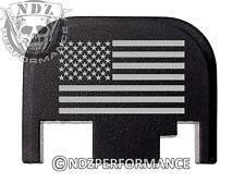 for Glock Rear Slide Cover Plate US Flag 17 19 21 22 23 27 30 34 36