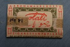2. WK. Zigaretten Papier SALALI vor 1945