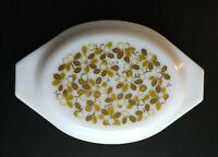 Vintage Pyrex VERDE Green Olives LID ONLY, 1.5 QT. Oval Casserole Dish #943-C 1