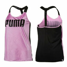 Puma Active Strap Top Womens Thin Vest Tank Fitness Top 852849 02 A77E