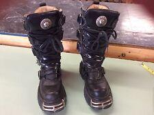 Womens Size 7 EU 38c New Rock Reactor Boots Punk Rock NICE