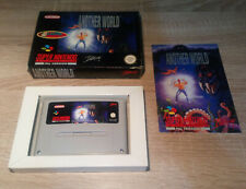 Super Nintendo SNES // Another World + OP + Manual // DT. PAL CIB