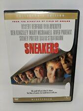 Sneakers (DVD) Collector's Edition Widescreen Redford, Poitier, Aykroyd, Phoenix