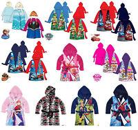 enfants garçon filles Disney Officiel Various souple peignoir robe de chambre