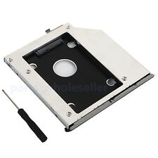 with bezel and bracket 2nd HDD SSD hard drive caddy for HP EliteBook 2560p 2570p