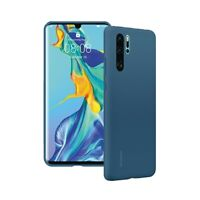 Custodia Originale per Huawei Per P30 Pro blue Cover Silicon Gel Case  Retro