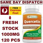 Quercetin 1000mg 120 Caps DOUBLE STRENGTH Best Naturals POWERFUL IMMUNE SUPPORT! <br/> ✅ 100% PREMIUM Grade ✅ MEGA VALUE PACK 250C ✅ USA Made