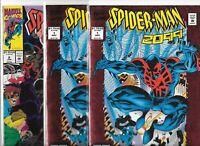 Spider-man 2099 #1(2) & #8   Lot of 3 (November 1992, Marvel Comics)