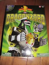 Mighty Morphin Power Rangers Legacy Green Dragonzord Dino Figure Bandai 96846