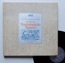 """LP Karl Richter - Munchener Bach-Orchester  """"6 Brandenburgische konzerte"""" n°6452"""