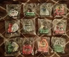 Mcdonalds Holiday Express Train Happy Meal Toys Complete Set Of 12 New 2017