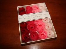 BODY LUXURIES Scented Soap Rose Petals Floral Bouquet 2.11 Oz.
