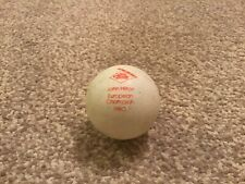 Vintage Schildkrot Table Tennis Ball 1980 European Championship John Hilton