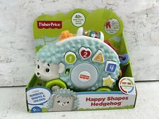 Fisher Price Linkimals Happy Shapes Hedgehog Musical Toy New In Box