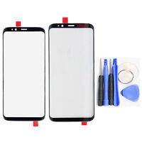 For Samsung Galaxy S8 S8 Plus Front Outer Screen Glass Lens Replacement Parts