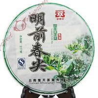 2014 yr Yunnan MingQian Spring tips puer Pu'er Puerh Raw Chinese Black Cake Tea