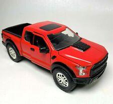 2017 Ford F-150 Raptor Pickup Truck Die-cast 1:24 Jada Toys 9 inch Red