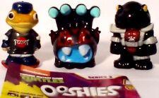 Ooshies T.M.N.T. Teenage Mutant Ninja Turtles Series 2 Toys/ pen toppers X3