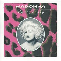 MADONNA UK 7'' PICTURE SLEEVE OF HANKY PANKY  IN  N/EX/EX  CON