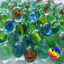Glass Marbles 16 mm 🔴🔵  Pack Sizes  10 - 20 - 50 - 75 - 100 + FREE SHOOTER