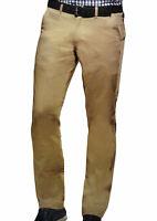 Chino-Hose Herren-Hose  Slim Fit Businesshose Baumwolle Öko Tex Standard Senf