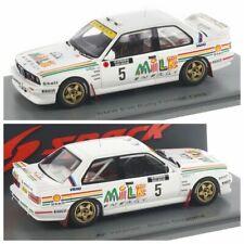 Spark BMW M3 E30 No.5 Rally 1000 Lakes Finland 1988 - Ari Vatanen et Bruno Berglund Voiture Miniature - Blanche (S7826)