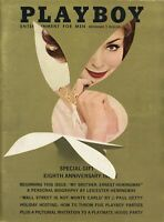 PLAYBOY DECEMBER 1961 Kathy Douglas Lynn Karrol Playmate House Party Vargas RCV2