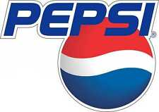 "Pepsi Cola Bumper sticker, wall decor, vinyl decal, 5""x 3.5"""