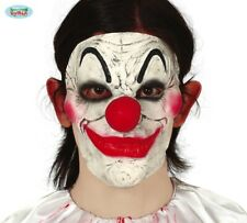 Déguisement Halloween Clown Visage Masque Latex Horreur Neuf Fg