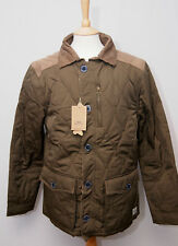 "Weird Fish Roman men's warm quilt padded country outdoor jacket coat M 38"" 97cm"