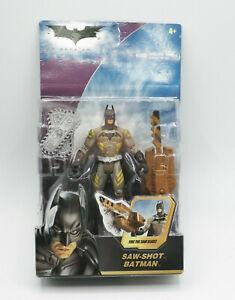 Batman The Dark Knight Saw Shot Batman Action Figure DC Mattel NEW FREE SHIPPING