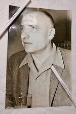 Bernard CLAVEL 19,5 x 30 cm argentique originale