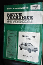 Revue technique automobile Renault 14 L-TL n° 3671
