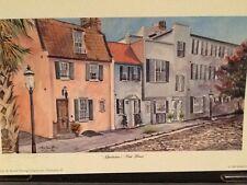 """Charlestons Pink House"" Charleston water color print Marilyn Morris Birthday"