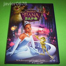 TIANA Y EL SAPO CLASICO DISNEY NUMERO 51 - DVD NUEVO Y PRECINTADO