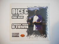 DICE 'C feat. PHAT BEAT : COMING FROM D-TOWN [ CD SINGLE NEUF PORT GRATUIT ]