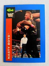 THE NASTY BOYS WWE Classic Trading Card Knobbs & Sags wrestlers tag team wwe