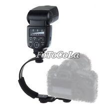 C-Shape Flash Shoe bracket for Canon Nikon DSLR Camera Speedlite LED Video Light