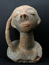 antique Akan Funerary Head Nsodie or Commemorative Container Abusua Kuruwa