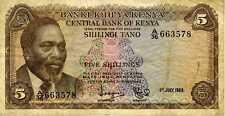 Kenia 5 shilling 1969