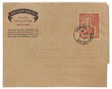 U57 1958 *BRITISH GUIANA* Air Letter Postal Stationery {samwells-covers}PTS