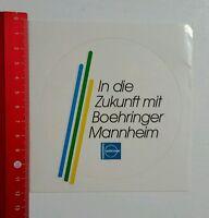 Aufkleber/Sticker: mannheim Boehringer (260816139)