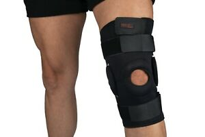 PRO 11 WELLBEING Hinged knee brace with patella support and adjustable straps