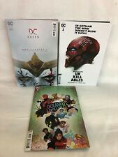 DC Dceased Unkillables #1-3 card stock Horror cvrs by (W) Tom Taylor (free ship)