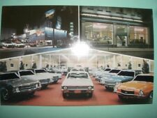 Degan Chevrolet car dealer dealership auto 1960's Philadelphia postcard