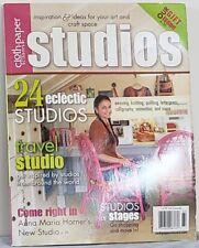 CLOTH PAPER Scissors STUDIOS Magazine $15 Retail SPECIAL ISSUE Winter 2011