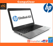 "HP EliteBook 820 G1 12.5"" Laptop i5 1.9GHz 4th, 4GB RAM 320GB HDD, Win 7 Pro (BP"