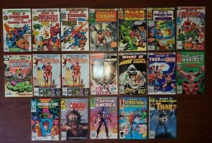 What If? Newsstand High Grade VF/NM 19 Books 1 3 6 13 20 29 31 35 37 38 39 41 42