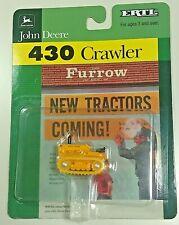1/64 ERTL John Deere 430 Crawler the Furrow NIP NEW Free Ship